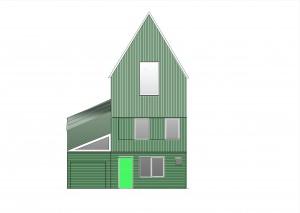 Zaans Serre Huis op zaanse nieuwbouwdag 27 sept